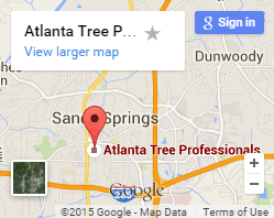 Atlanta Tree Service Map