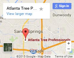 Atlanta Tree Service Map